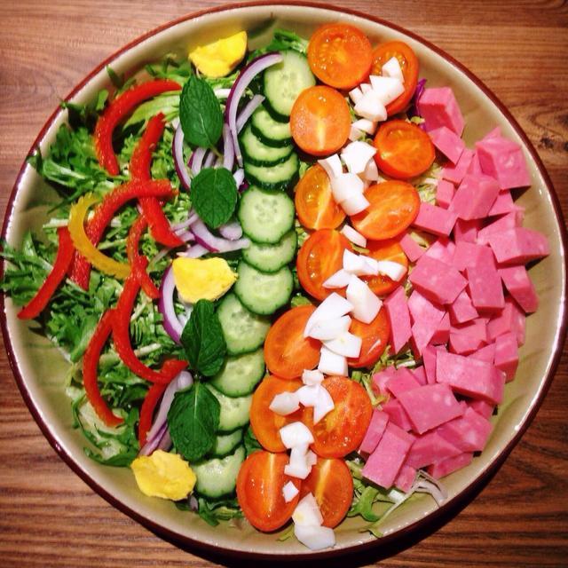 减肥蔬菜沙拉的多种做法