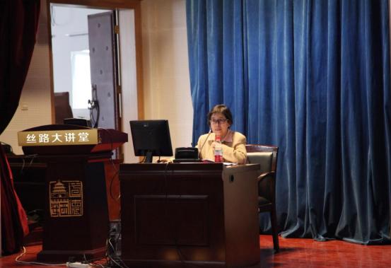 世界读书日丝路文化系列讲座在西安图书馆举行