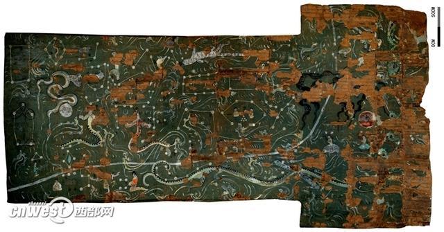 汉墓发现最完整二十八星宿图 震惊考古专家