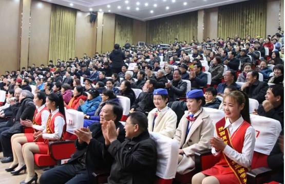 """渭南首批""""慈善大使""""聘任暨轨道运校迎新年晚会"""
