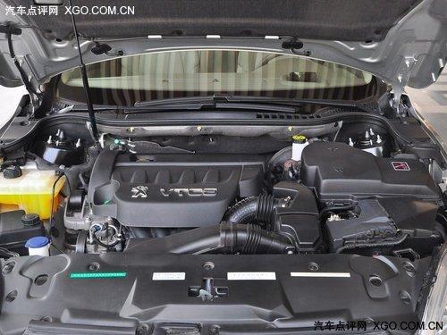 东风标致508发动机舱-来自欧洲的风韵 三款高性价比中型车推荐高清图片