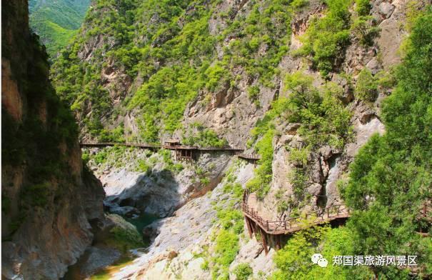泾阳郑国渠景区徒步线路 一路全是美景