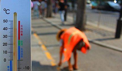西安一53岁保洁员中暑猝死 事发时刚上下午班