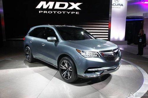 全新mdx量产版 作为本田的高端品牌,讴歌一直立足于美国市场,多款车型