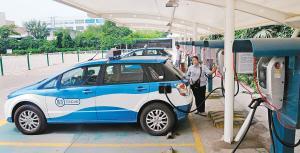 西安年内将建7000个充电桩 鼓励社会资本参与