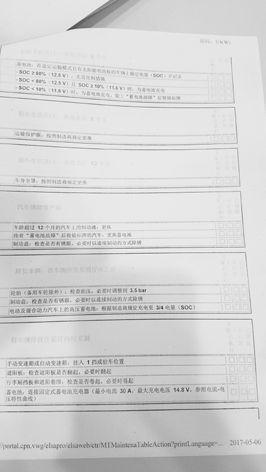 新买奥迪4天5次故障 4S店多项例行检查未填写