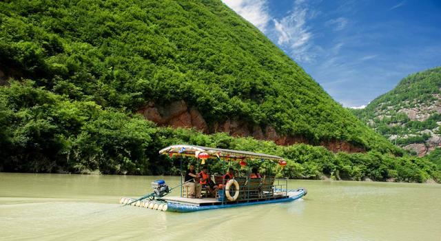 灵官峡四大主题——沿江亲水文化娱乐体验区