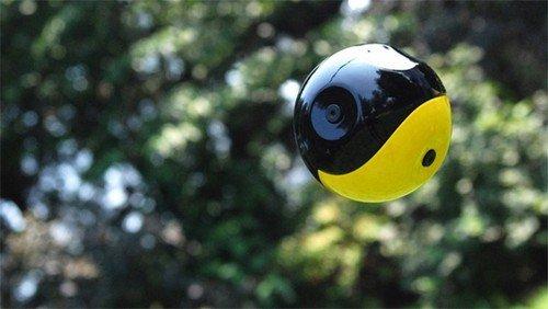 无遮挡角度拍摄 Squito球形全景DC登场