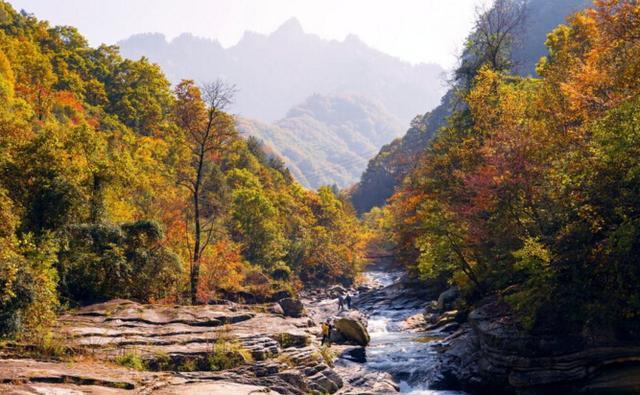 秋季西安周边游 这些美景别错过