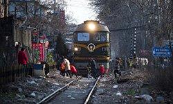 185:仍在闹市区服役的开放式铁路