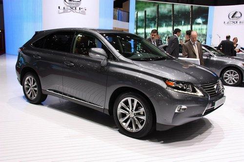 新车前瞻之新款雷克萨斯RX--气质大有不同