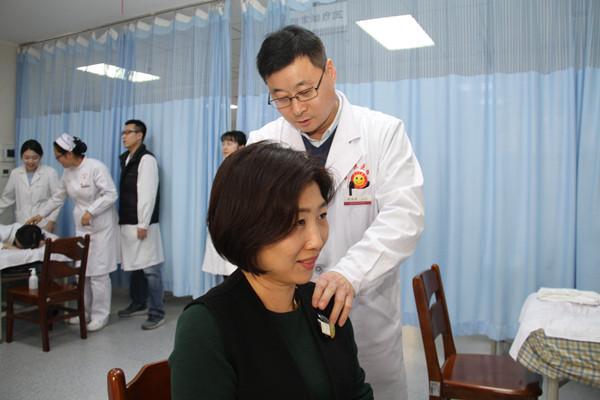 中韩传统中医护理学分交换合作项目圆满完成