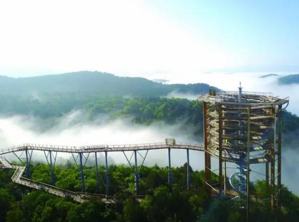 穿过都市丛林,回归黄龙的洗肺天堂!