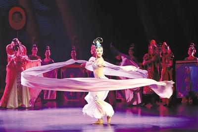 西安市舞剧《传丝公主》 在国家大剧院成功演出