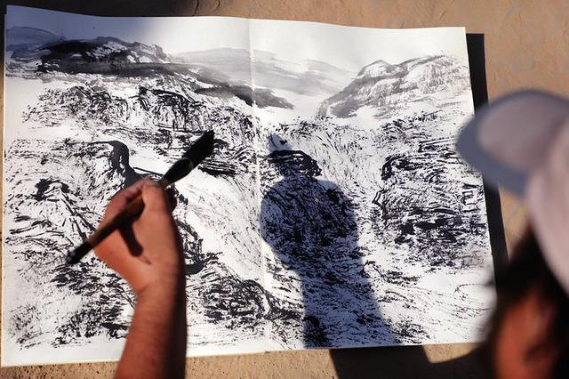 画家们将创作百米长卷 展现沿黄观光路之美