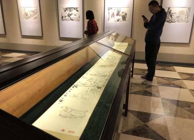 《清逸朗行——刘西洁中国画作品展》西安举行