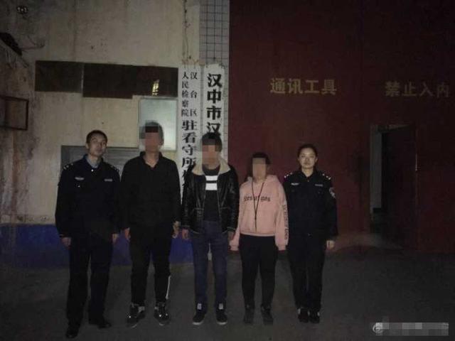 汉中警方抓获扒窃团伙嫌疑人 三人均为残障人士