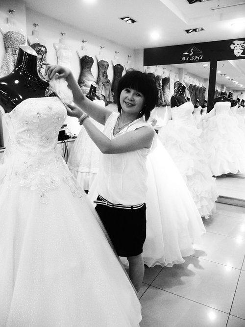 夏季新娘婚纱礼服选择ABC