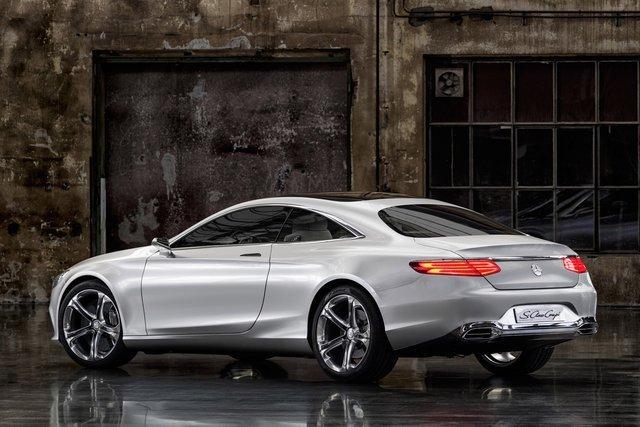 奔驰s级coupe概念车 八款将量产全新车型前瞻 主打个性化