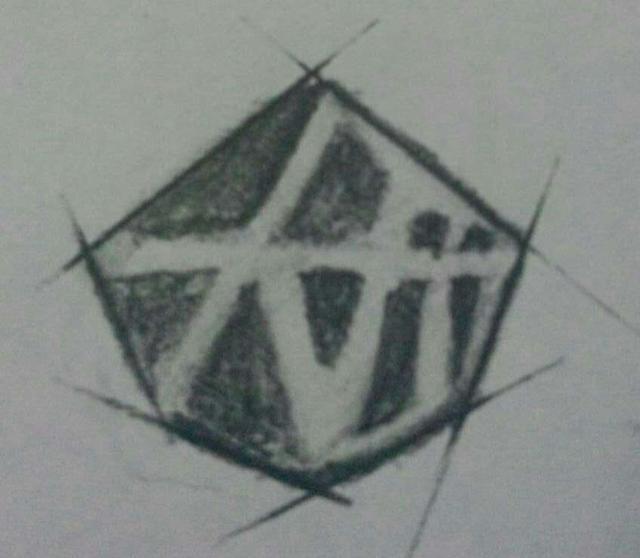 王建蓉 六边形logo