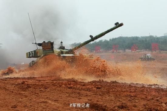 资料图:解放军实战演习