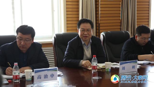 陕西省政府医改专项督导组考察榆林一院医改工作