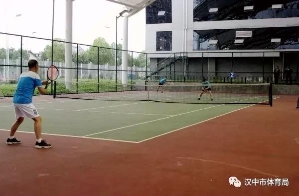 """全民健身运动会""""夏垫佳美杯""""网球比赛收拍"""