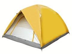 三人双层帐篷