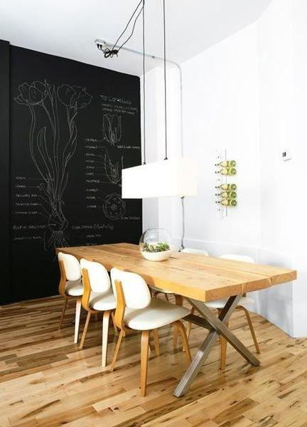 45个超文艺的创意黑板墙 适合各种空间使用