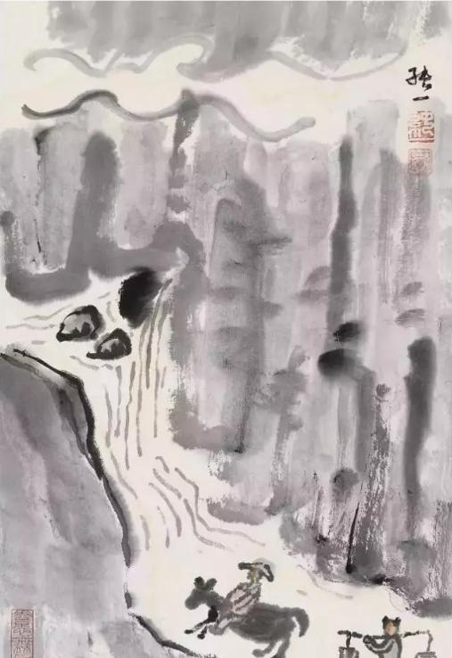 格高气古是纯一 西安女画家纯一画作引关注