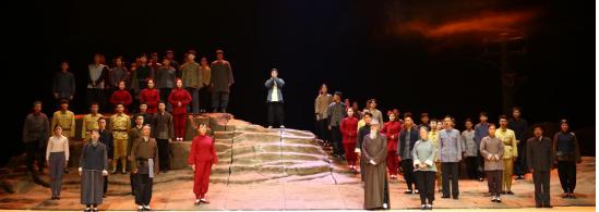 陕台1频道今晚播出外事学院版话剧《白鹿原》