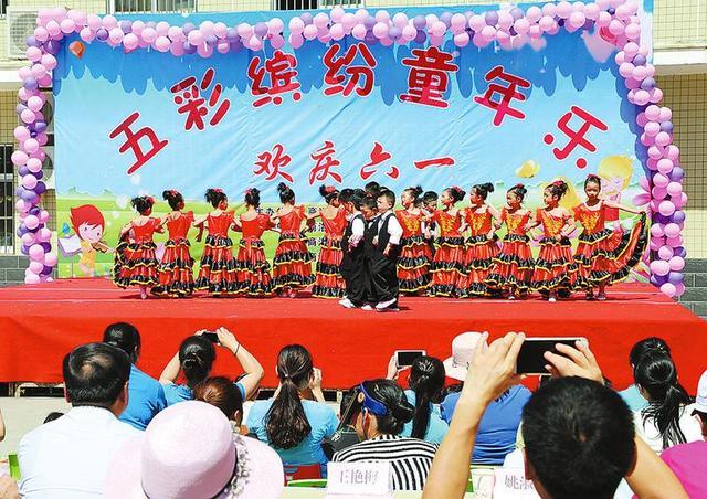 """商洛儿童福利院举办""""五彩缤纷童年乐""""活动"""
