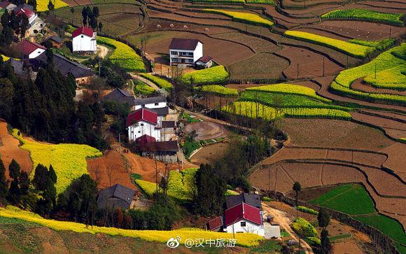 汉中勉县漩水坪风光(组图)