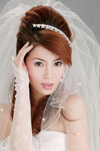 镜头前的新娘彩妆如何化