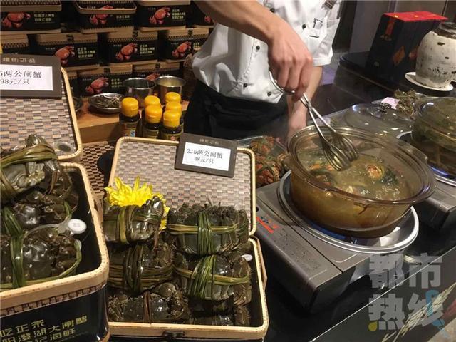 西安蟹市场鱼龙混杂 记者教你分辨大闸蟹