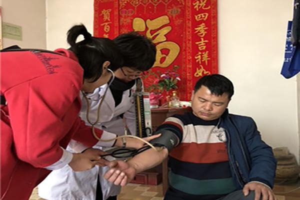 市中医医院赴长安区开展健康扶贫调研、义诊