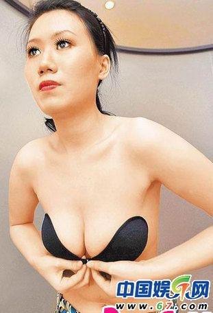 台湾e杯美女蒂芬妮 裸身教戴胸贴尺度逼人图