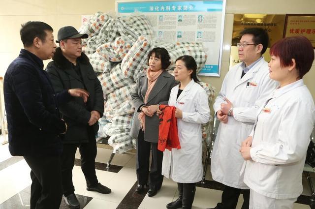 浓浓医患情 患者向交大二附院捐赠50床棉被