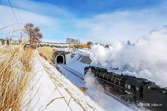 去草原追寻最后一辆蒸汽机车