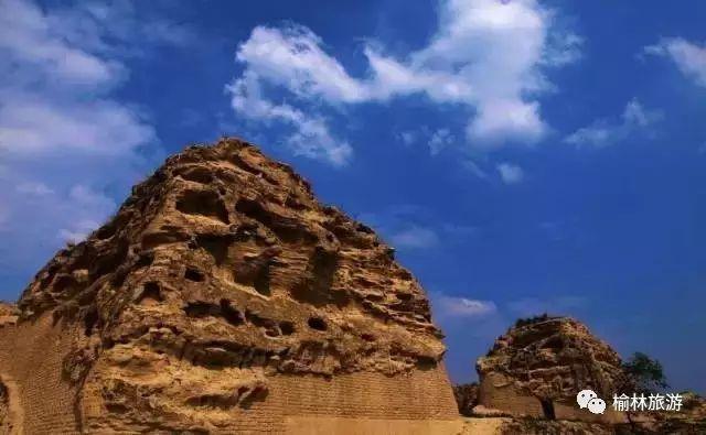 亲临统万城寻庐山面目 走进赫连城看大漠沧桑