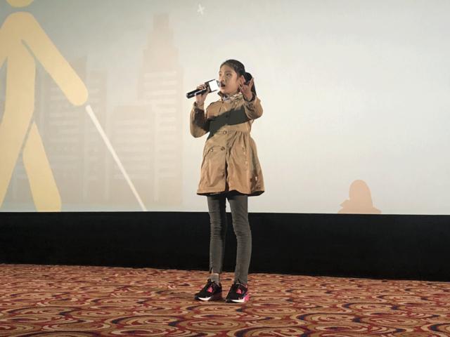 西安博纳影城举行世界读书日残疾人观影活动