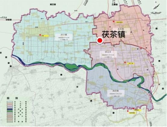 """西咸新区茯茶镇 """"双核多区""""规划设计全球招标"""