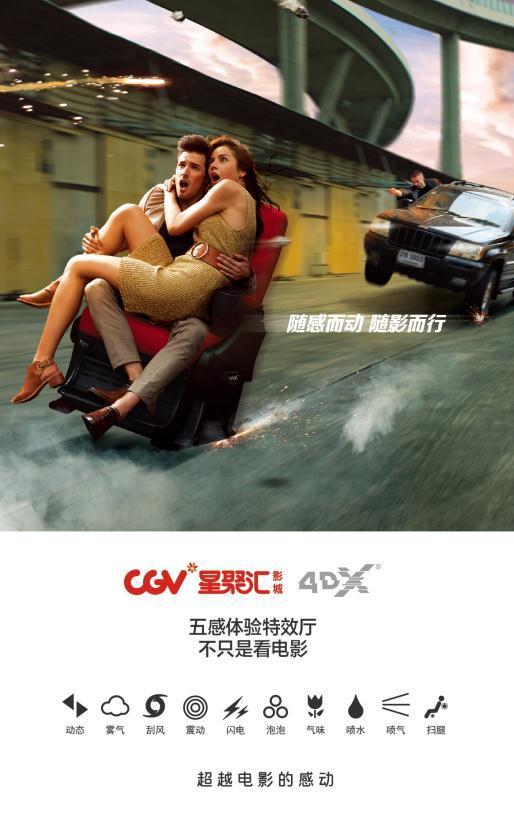 《加勒比海盗5:死无对证》4DX版CGV震撼首映