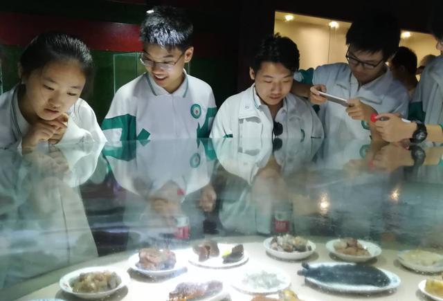 全媒体采风团与研学旅行的悻悻学子在灵官峡见证秦岭大自然艺术馆盛大开馆