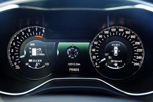 大秦汽车 新车谍报  正文    新蒙迪欧全系标配真皮多功能方向盘,前后图片
