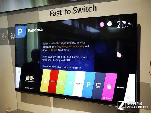 智能电视新起点 LG展台近距离体验webOS