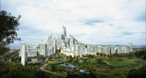 西咸新区 秦汉万通立体城市规划