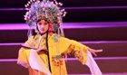 陆毅女儿贝儿表演京剧