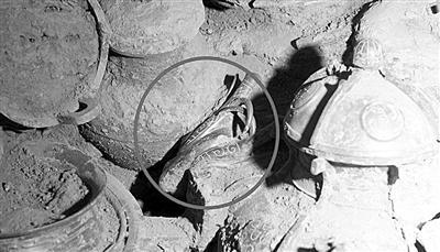 专家改图宝鸡石鼓山墓地墓主为姜太公尺寸(图cad考证纸一族图片