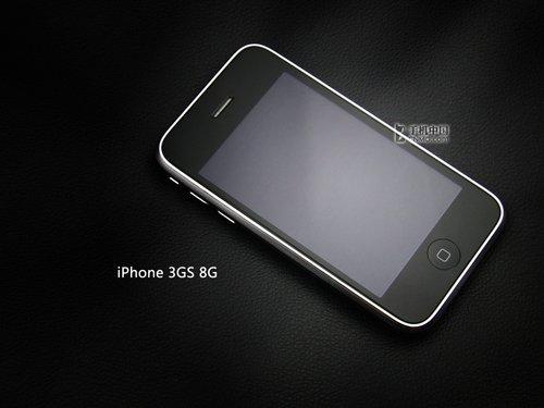 支持Wi-Fi 联通iPhone3GS 8G版初解析